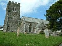 St Peter's church, Zeal Monachorum, Devon - geograph.org.uk - 450334.jpg