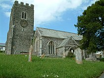 St Peter's church, Zeal Monachorum, Devon - geograph.org.uk - 450334.jpg