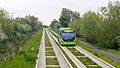 Stagecoach Huntingdonshire 21222 AE09 GYS and Cambridge Guided Busway.jpg