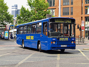 Magic Bus (Stagecoach) - Northern Counties Palatine bodied Volvo B10M in Manchester in July 2008
