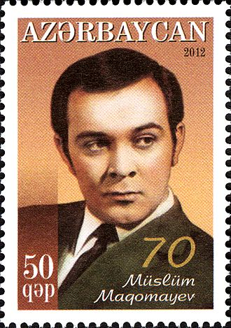 Azerbaijani pop music - Image: Stamps of Azerbaijan, 2012 1047