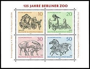 Briefmarken Jahrgang 1969 Der Deutschen Bundespost Berlin Wikipedia