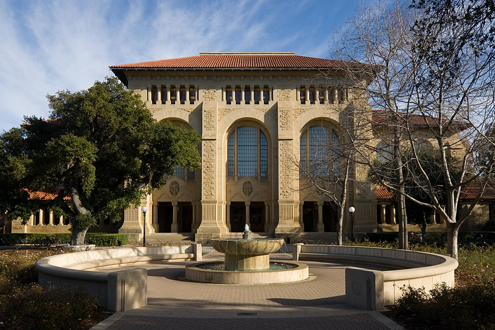 Stanford University Green Library Bing Wing