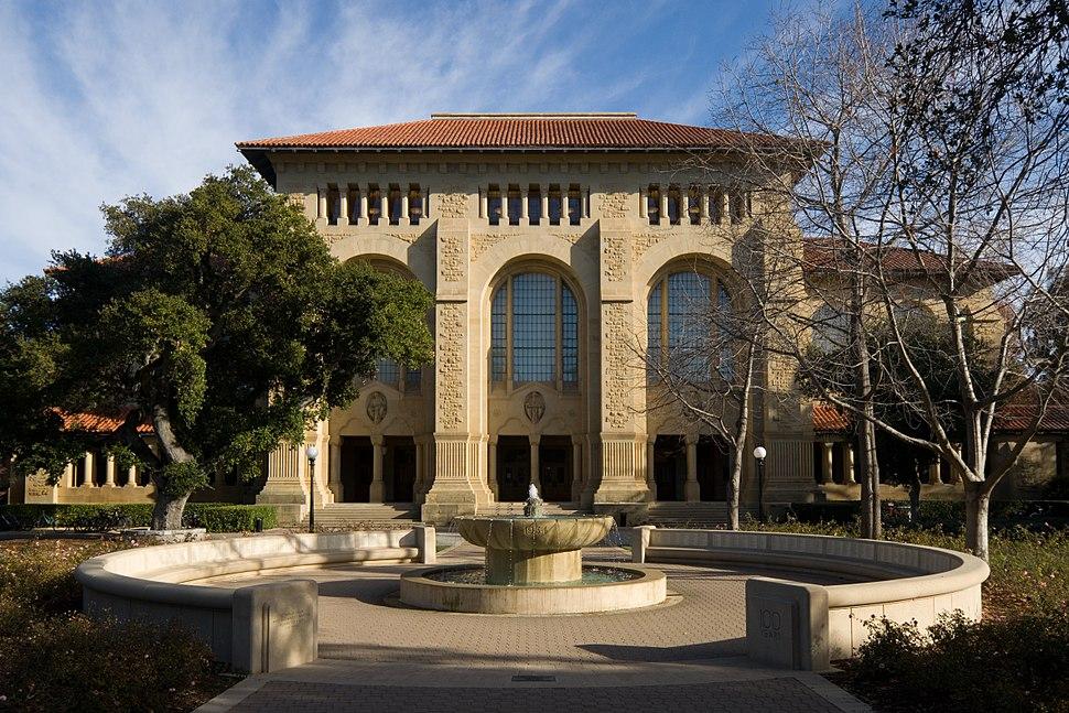 Stanford University Green Library Bing Wing