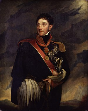 Stapleton Cotton, 1st Viscount Combermere - Image: Stapleton Cotton, 1st Viscount Combermere by Mary Martha Pearson (née Dutton)
