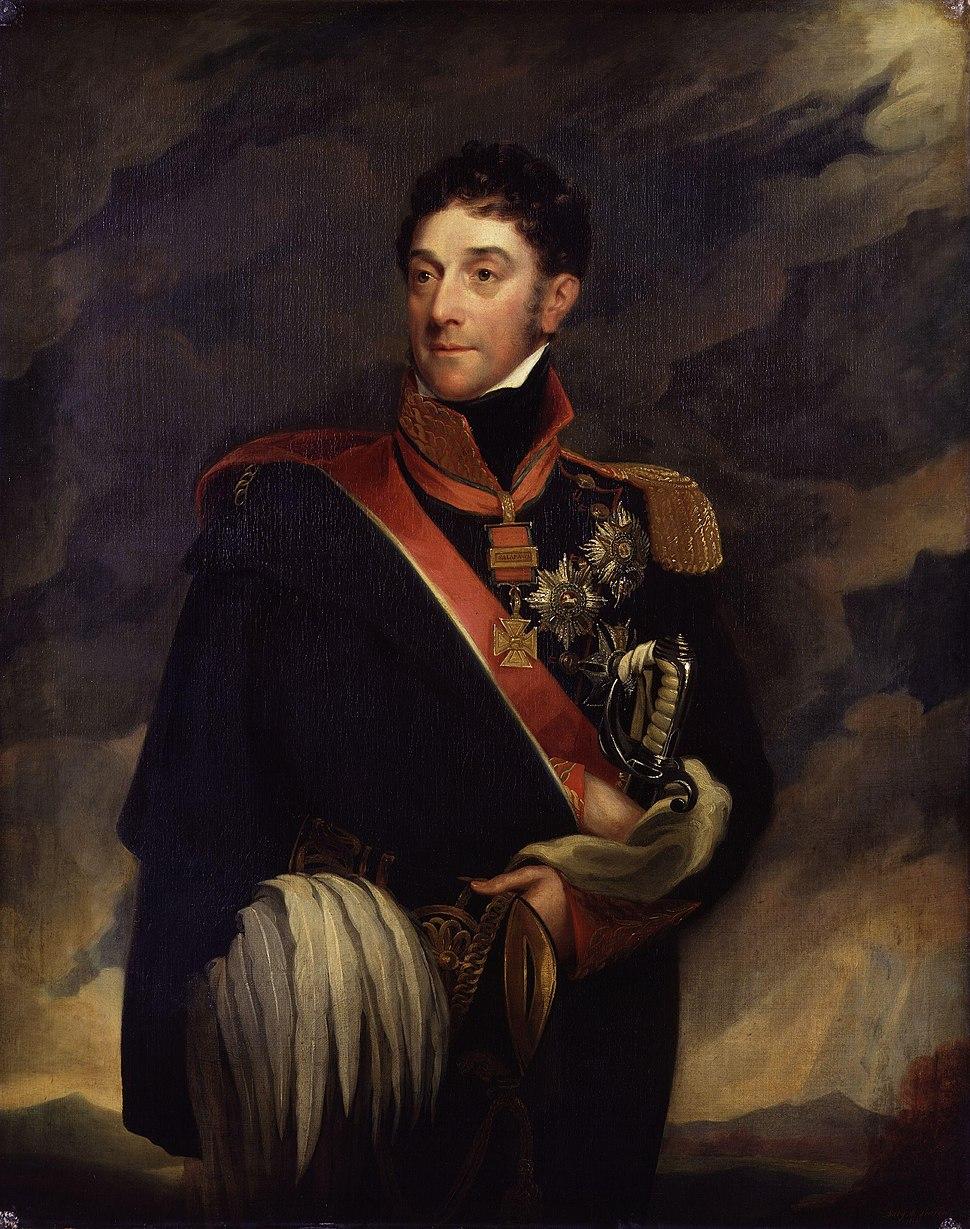 Stapleton Cotton, 1st Viscount Combermere by Mary Martha Pearson (n%C3%A9e Dutton)