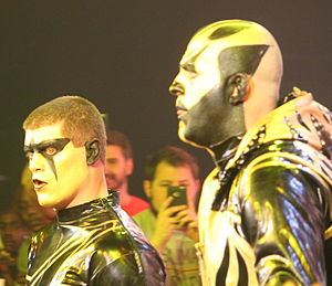 Cody Rhodes and Goldust - Gold and Stardust in September 2014.