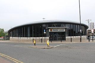 Park Lane Interchange Tyne and Wear Metro station in Sunderland