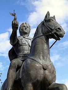 new arrivals 1290a 781a1 Alejandro Magno, portando a Nike en su mano, ciudad de Pela, Grecia