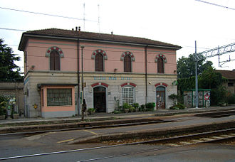 Affori - The former Affori railway station