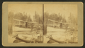 """Steamer """"Oquossoc."""" M'guntic Lake, by O. M. Moore.png"""