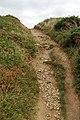 Steep climb on the coastpath near Dinas Fawr - geograph.org.uk - 1534350.jpg