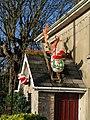 Steep climbs for Santa - geograph.org.uk - 1614564.jpg