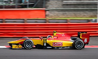 Stefano Coletti - Coletti during the 2014 GP2 Series round at Silverstone.
