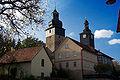 Stepfershausen Kirche und Schule mit Schulturm.jpg