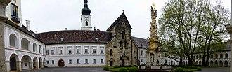 Heiligenkreuz Abbey - Inner court