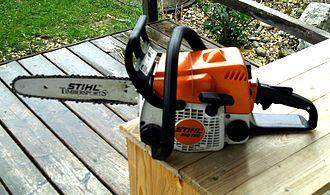 Chainsaw - A Stihl chainsaw