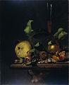 Stilleven met peren, mispels en een glas Rijksmuseum SK-A-1751.jpeg