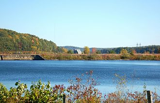 Stillwater River (Nashua River tributary) - View from Wachusett Reservoir entry