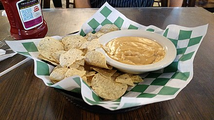 Cheese dip, Stoby's (Conway) Stoby's, Conway, AR.jpg