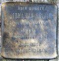 Stumbling block for Johanna Brunn (Schartgasse 1c)