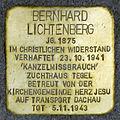 Stolperstein.Tegel.Medebacher Weg 15.Bernhard Lichtenberg.7384.jpg