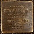 Stolperstein Göppingen, Hedwig Banemann.jpg