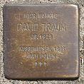 Stolperstein HB-Sebaldsbrücker Heerstr 55 David Traum.jpg