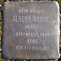 Stolperstein Köln, Albert Brünell (Am Markt 6).jpg