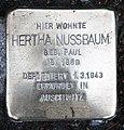 Stolperstein Stendaler Str 14 (Moabi) Hertha Nussbaum.jpg