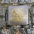 Stolperstein für Aurelie Beck, Schweizer Strasse 5, Dresden.JPG