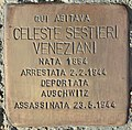 Stolperstein für Celeste Sestieri Veneziani (Rom).jpg