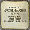 Stolperstein für Marcel Gaucher (Fontenay-sous-Bois).jpg