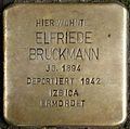 Stolpersteine Krefeld, Elfriede Bruckmann (Südwall 34).jpg