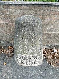 Stone In London Road Outside Number 196.jpg