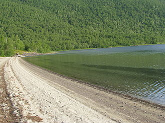 Evenes - Part of Strandvatnet lake