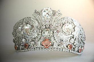 Rhinestone - Rhinestones on a tiara