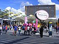 Stratford Olympic and shopping crowds (7721516490).jpg