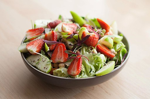 Strawberry & Apple Salad