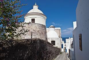 Il villaggio dell'isola di Stromboli