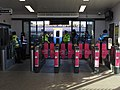 Strood station (2017) ticket hall barriers 7571.JPG