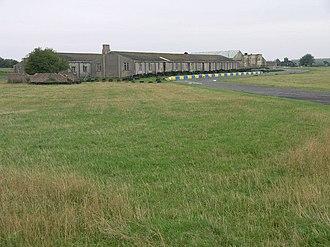 RAF Strubby - An airfield building