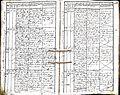 Subačiaus RKB 1832-1838 krikšto metrikų knyga 110.jpg