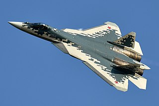 Sukhoi Su-57 Russian fifth-generation fighter aircraft