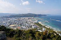 Sumoto city view from Sumoto Castle Awaji Island Japan01n.jpg