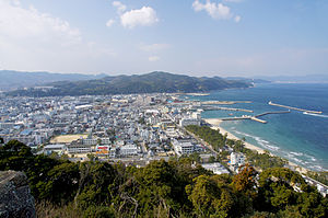Sumoto city view from Sumoto Castle Awaji Island Japan01n.jpg