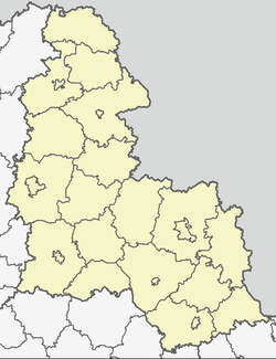 Hlukhiv (Глухів) is located in Sumy Oblast