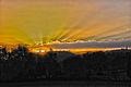 Sunbeams at sunset (10856215413).jpg