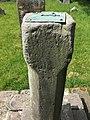 Sundial in graveyard, Ellel (2).jpg