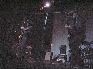 The Supersonic Soul Pimps performing at Vivian...